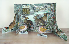 Angela Harding - We Three Hares Advent Calendar by Angela Harding