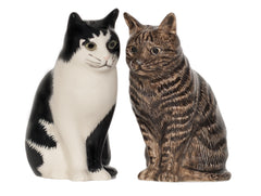 Quail - Cats Salt And Pepper Pots: Barney & Clementine
