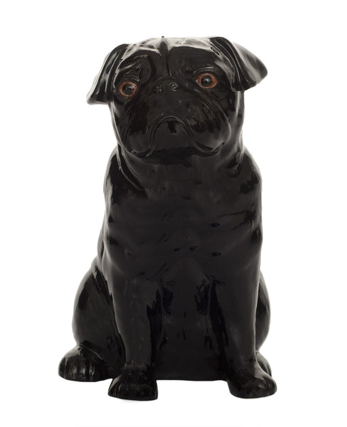 Pug Money Box: Black