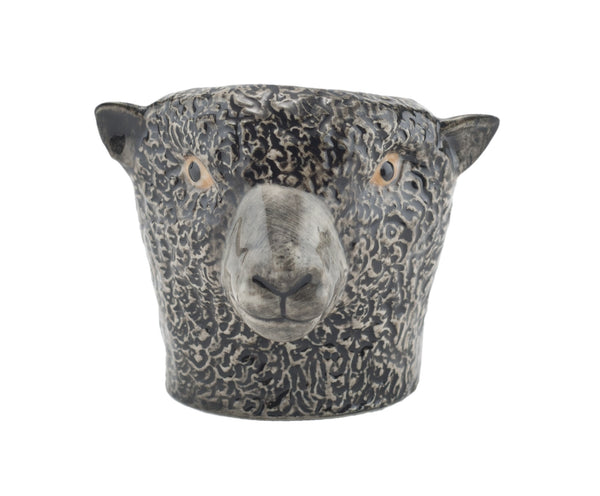 Black Sheep Face Egg Cup