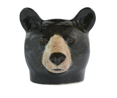 Quail - Black Bear Face Egg Cup