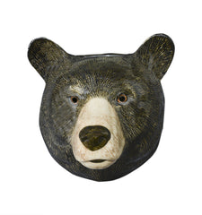 Quail - Black Bear Wall Vase