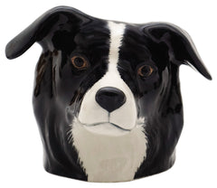 Quail - Border Collie Face Egg Cup