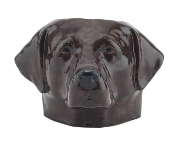 Face Egg Cup: Chocolate Labrador