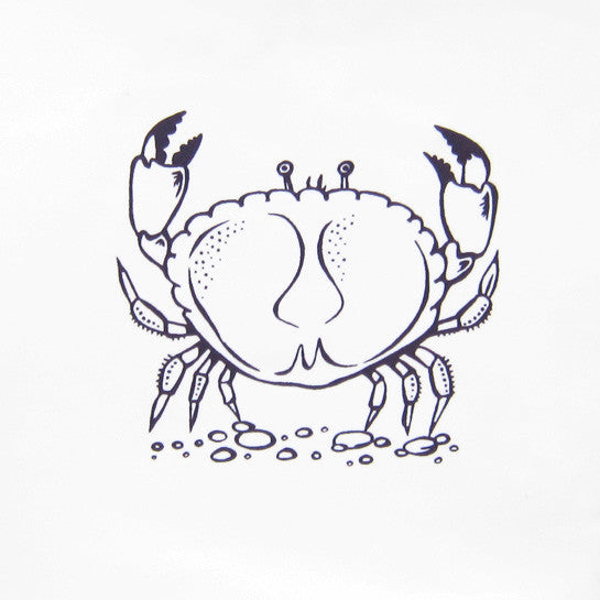 Crab 'Delft' Tile