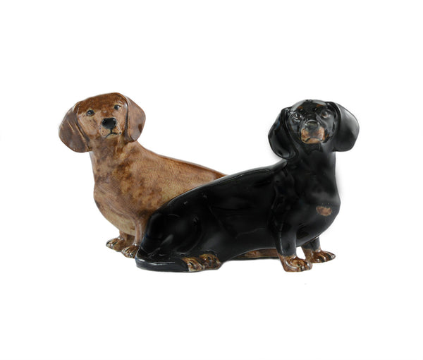 Dachshund Salt And Pepper Pots