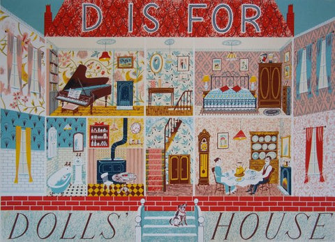 Emily Sutton - D is for Dolls House