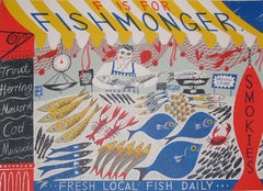Emily Sutton - F is for Fishmonger