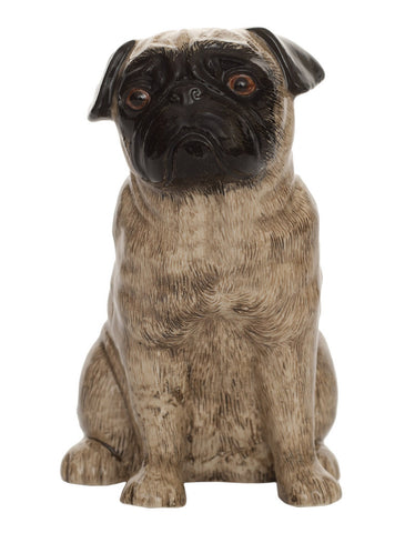 Quail - Faun Pug Table Flower Vase