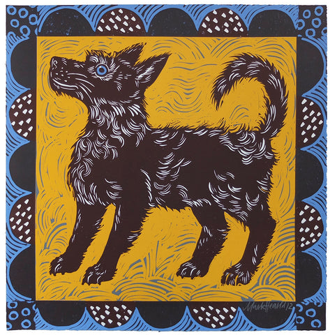 Mark Hearld - Feste Dog