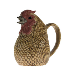 Quail - Chicken Jug: Gold Sebright