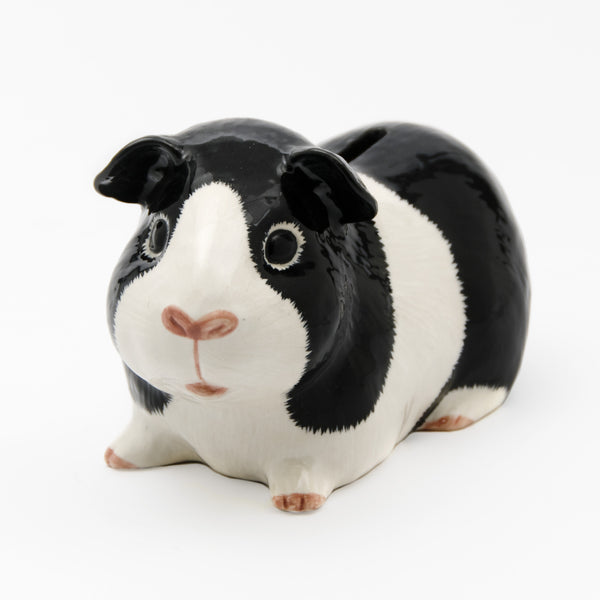 Guinea Pig Money Box: Black & White