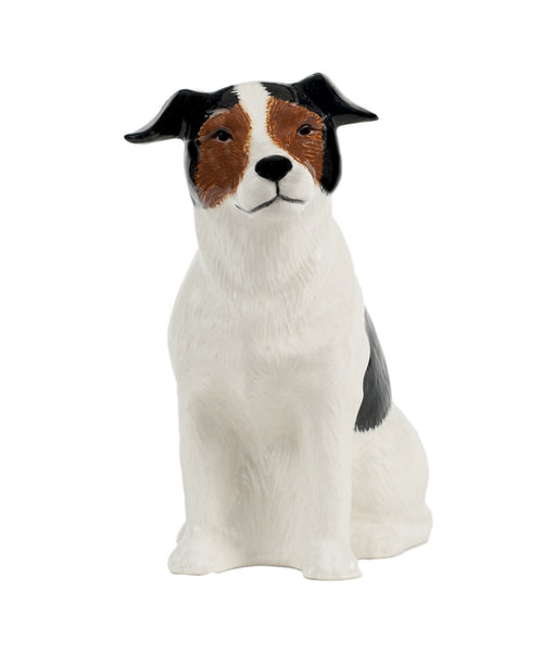 Jack Russell: Tri: Brown, Black & White Money Box