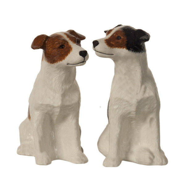 Jack Russell Salt And Pepper Pots