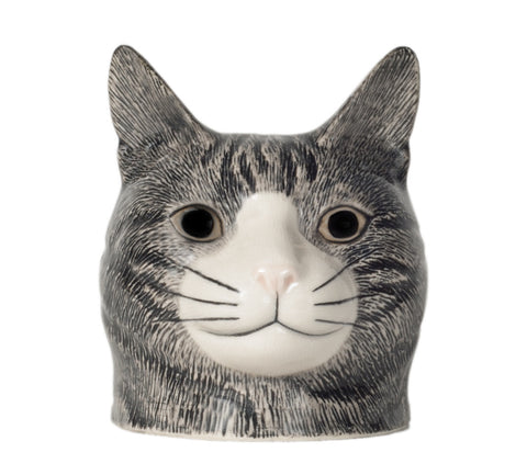 Quail - Cat Face Egg Cup: Patience
