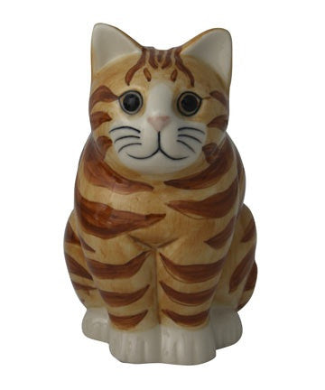 Quail - Cat Money Box: Minnie
