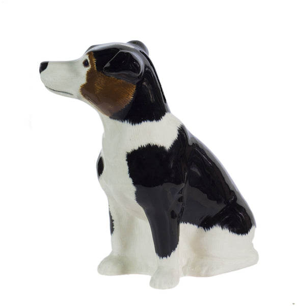 Jack Russell: Tri: Black, Brown & White (Smooth) Money Box