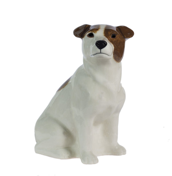 Jack Russell Brown & White (Smooth) Money Box