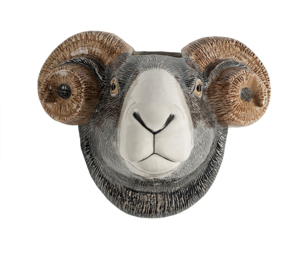 Swaledale Sheep Wall Vase