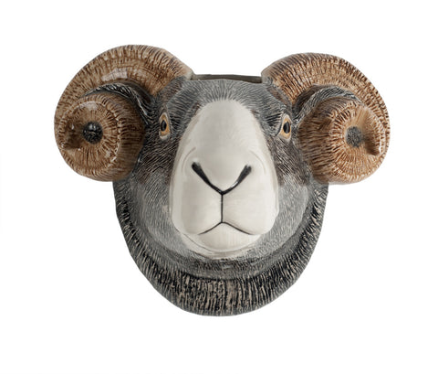Quail - Swaledale Sheep Wall Vase