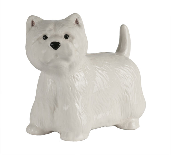 Westie Money Box