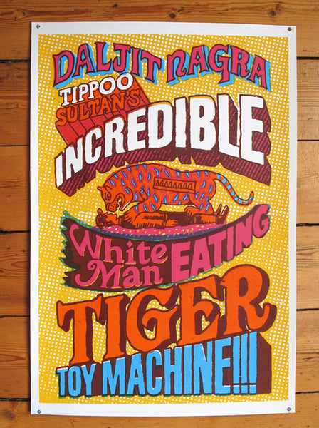 Tiger Toy Machine By Daljit Nagra