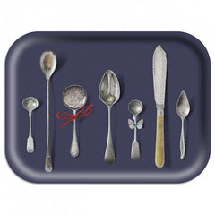 Michael Angove & Ary Trays - Slate Cutlery Tray: Medium