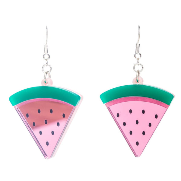 Beach Life Watermelon Earrings