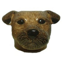 Quail - Border Terrier Face Egg Cup