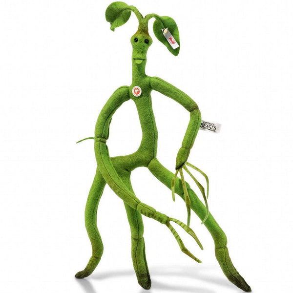 Steiff Bowtruckle from 'Fantastic Beasts And Where To Find Them' 355134: Size 38cm Tall Limited Edition of 1500