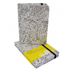 Jon Burgerman - Limited Edition A6 Notebook: Coffee and Cake