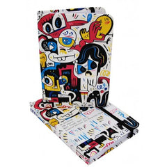 Jon Burgerman - Limited Edition A6 Notebook: City Girl