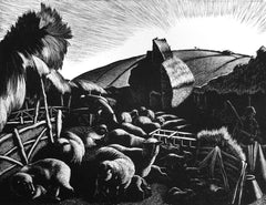 Clare Leighton - A Farmer's Year: January - Lambing