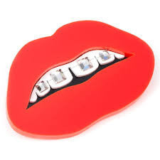 Tatty Devine - Dental Bling Brooch