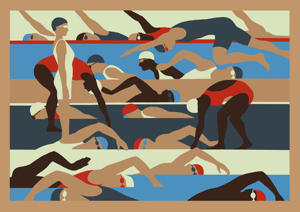 Swimmers by Eliza Southwood