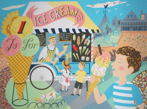 Emily Sutton - I Is For Icecream