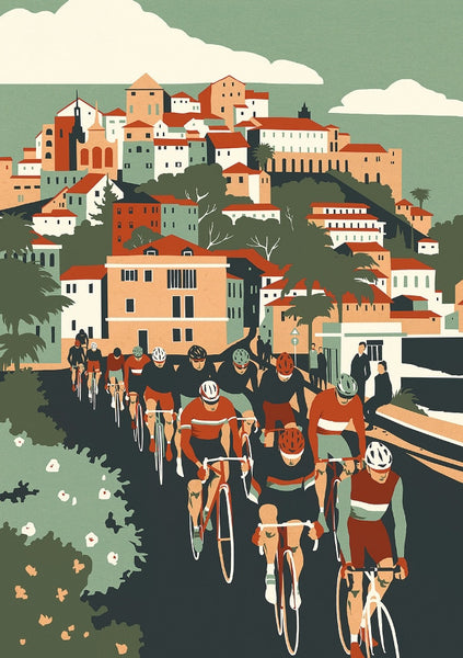 Spring Classics: Milan San Remo by Eliza Southwood