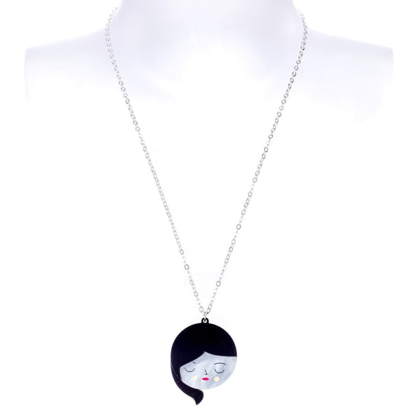 Faces Pendant Necklace
