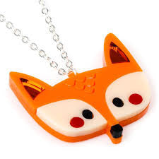 Doodllery Animal Kingdom - Fox Necklace