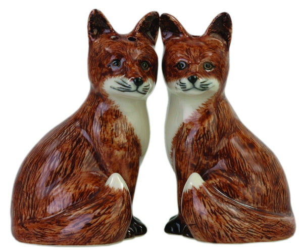 Fox Salt And Pepper Pots