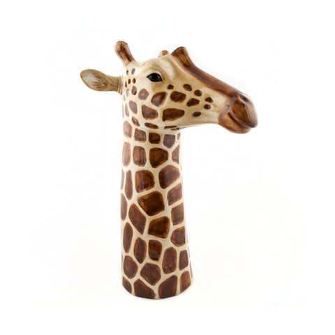 Quail - Giraffe Table Flower Vase