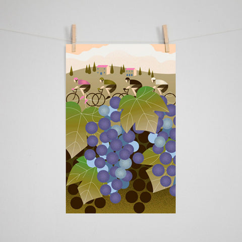 Eleanor Grosch - Giro D'Italia: Vineyard