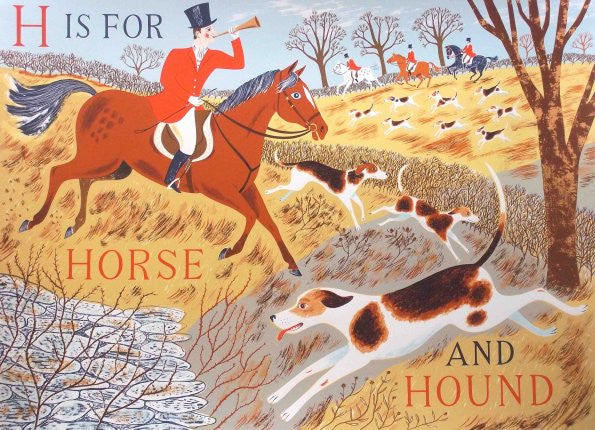 H Is For Horse And Hound