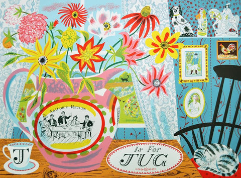 Emily Sutton - J Is For Jug