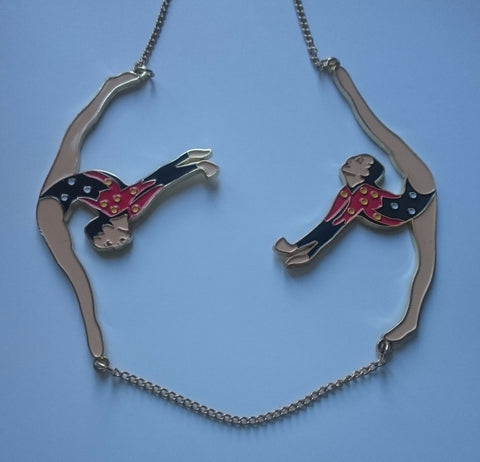 Karen Mabon Accessories - Necklace: Gymnasts