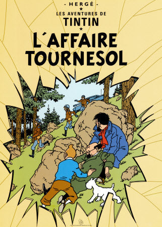 Tintin Poster: L'Affaire Tournesol