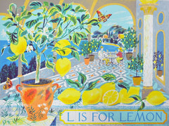 Emily Sutton - L is for Lemon
