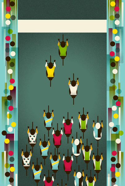 Tour De France Poster: Le Tour: Finish Line