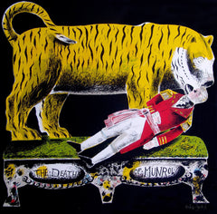 Clive Hicks-Jenkins - Man Slain By Tiger