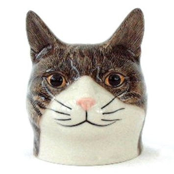 Quail - Cat Face Egg Cup: Millie